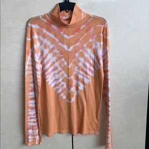 NWT Free People Psychedelic T-Neck